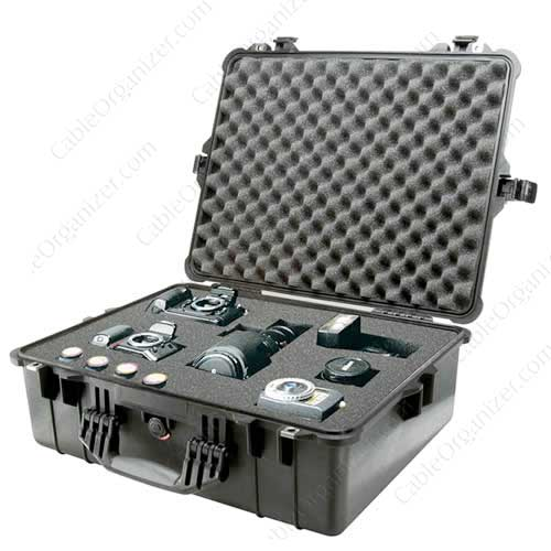 Pelican 1600 Large Protector Case with camera inside icon