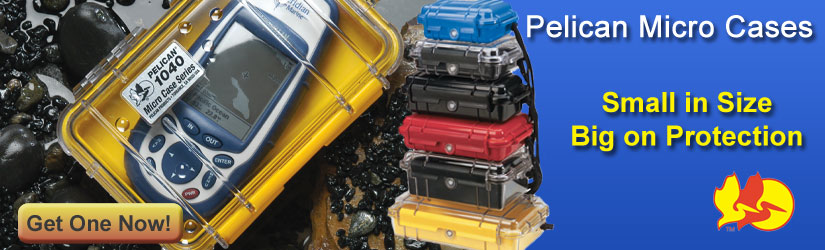 Pelican Micro Series Cases protect devices