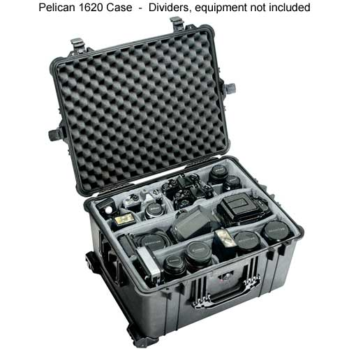 Pelican 1620 Large Protector Case open with equipment inside icon