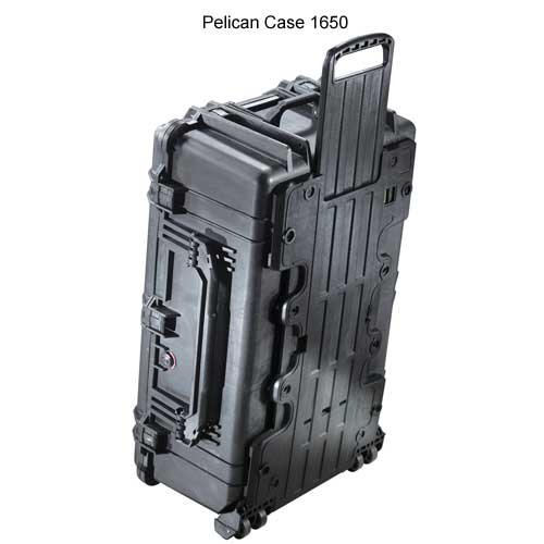 Pelican 1650 Large Protector Case with Wheels icon