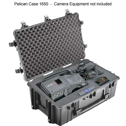 Pelican 1650 Large Protector Case open with equipment inside icon