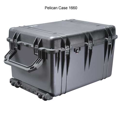 Pelican 1660 Large Protector Case closed icon