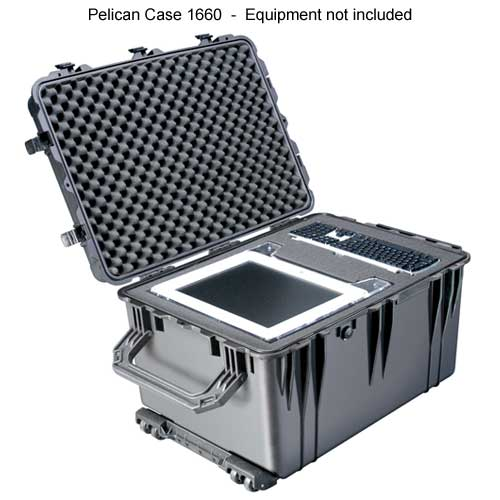 Pelican 1660 Large Protector Case open and with equipment inside icon