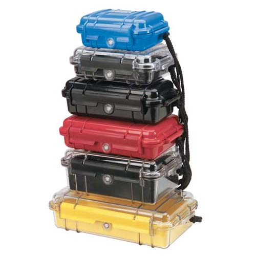 Pelican Micro Cases in various sizes and colors icon