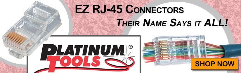 Platinum Tools EZ RJ45 connectors