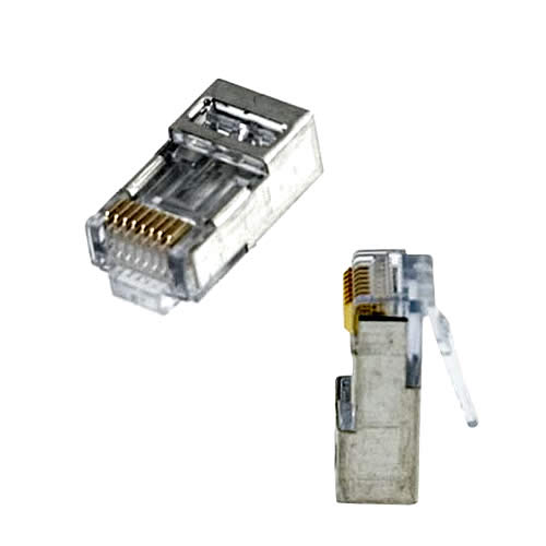 Platinum Tools 100021C EZ-RJ45 Shielded Cat5e//6 10 Piece