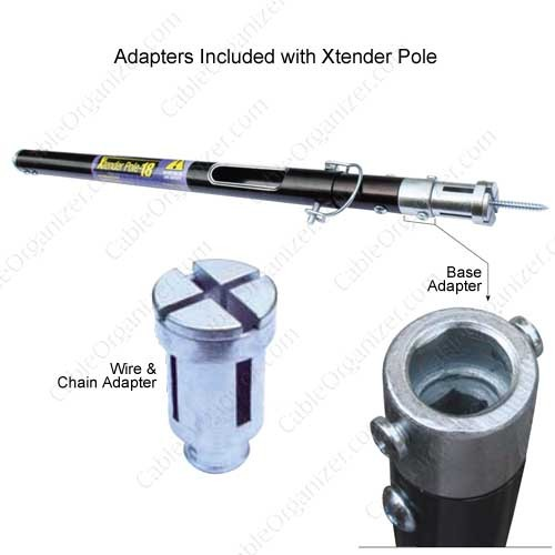 Platinum Tools Xtender Pole Adapters Included - icon