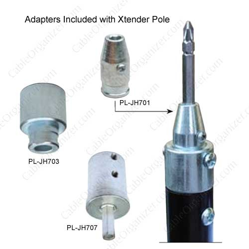Platinum Tools Xtender Pole Adapters Included 2 - icon