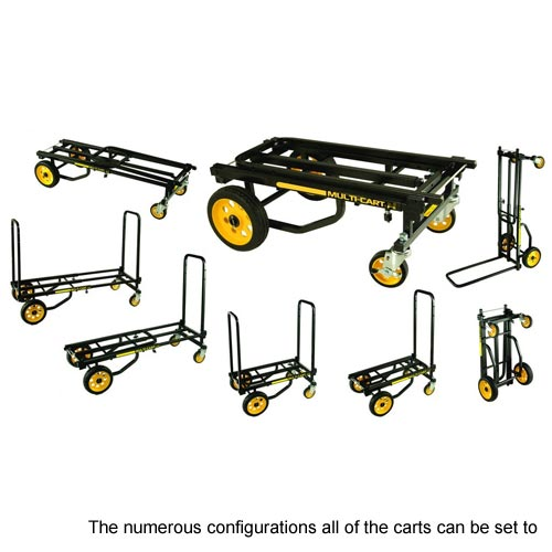 different configurations for the carts