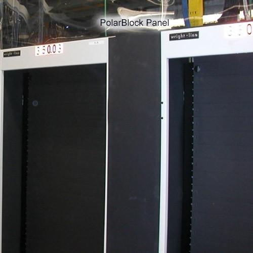 PolarBlock Magnetic Air Dam Barrier Panel Between Racks Application - icon