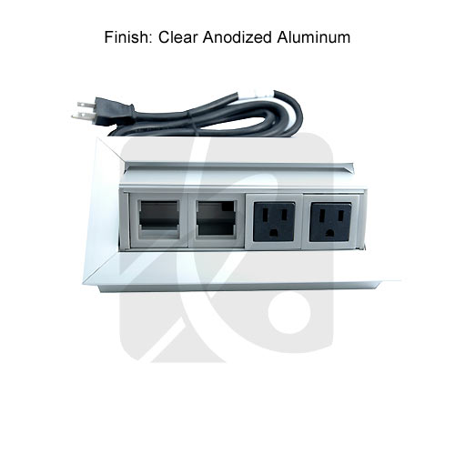 anodized aluminum unit solo