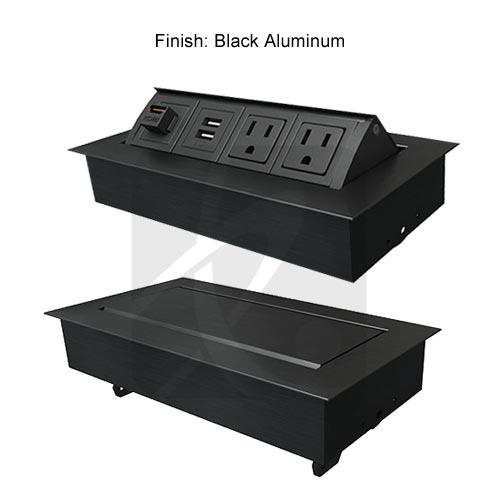 black finish MHO units