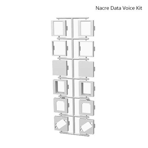 Nacre Voice Data Adapter Kit White