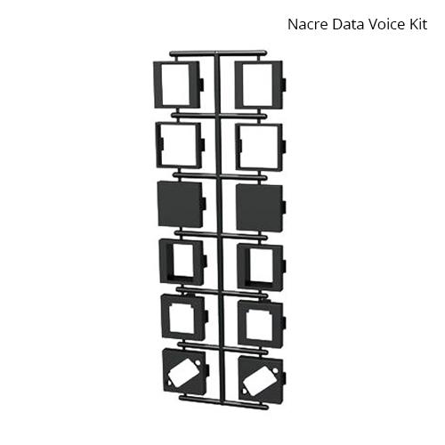 Nacre Voice Data Adapter Kit Black