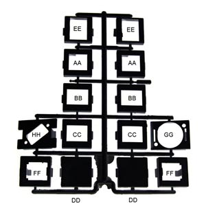 adapter kit, labeled