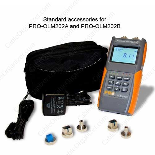 Standard Accessories of Fiber Optic Pro Multi Tester - icon