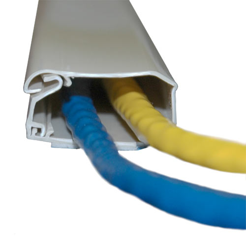 raceway on a roll in use with cables opened icon