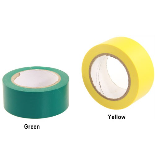 pro-splice vinyl splicing tape in green and yellow icon