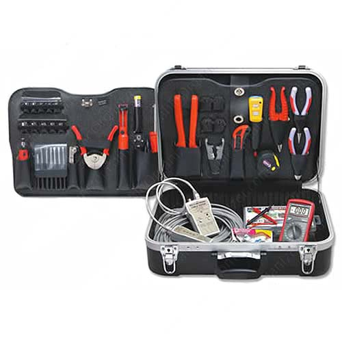 Network / Coaxial Installers Tool Kit, 81 pieces - icon