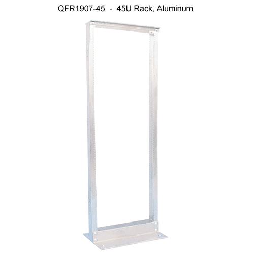 computer 2 post rack, 45U aluminum - icon
