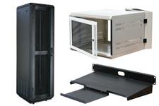 server cabinet, wallmount enclosure, rack accessories
