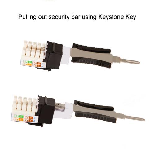 LocJack Keystone Security Jack Keys