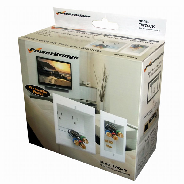 Quest In-Wall Power Cable Management Box