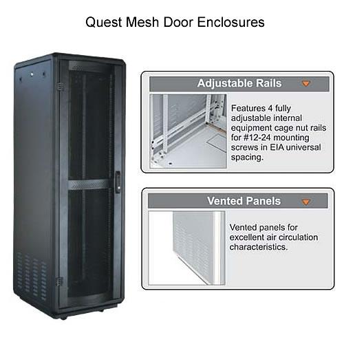 Server Mesh Door Enclosure - icon