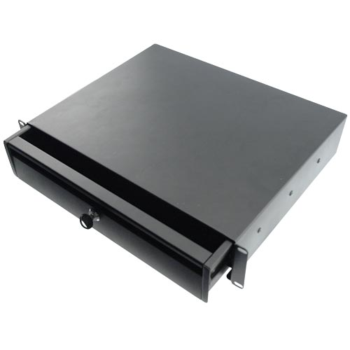 top view of quest manufacturing rack mount drawer icon