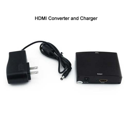 ac adapter for Quest VGA Plus Stereo Audio to HDMI Converter icon