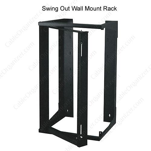 wall mount open rack - icon