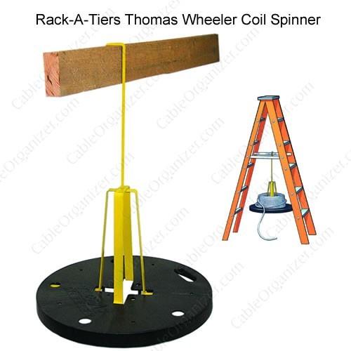 Rack-A-Tiers Thomas Wheeler Coil Spinner