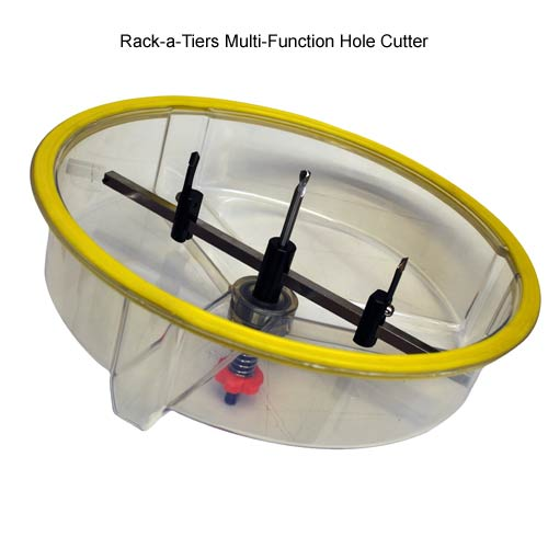 Rack-a-Tiers Multi Function Hole Cutter inside view icon