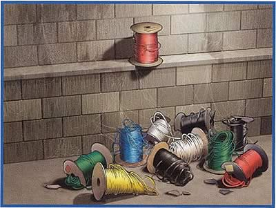 collection of broken spools