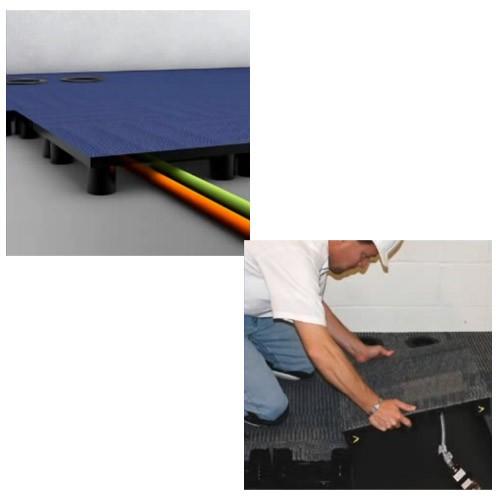 Application of Powerfloor Raised Floor