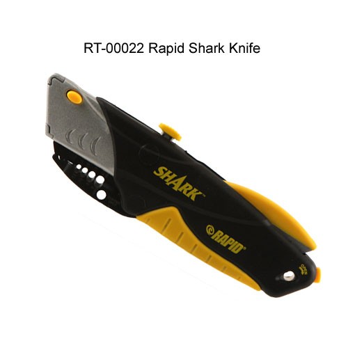 rapid tools rapid shark utility knife model 00022 with blades closed icon