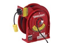 Reelcraft corded reels, powered reels
