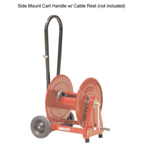 reelcraft side mount cart handle with cable reel icon