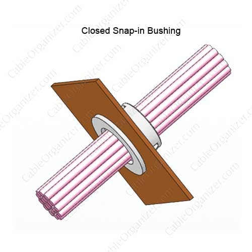 Richco Closed Snap-in Bushing - icon
