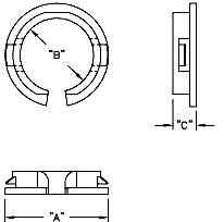 open snap-in bushing schematic