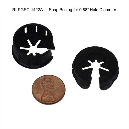 richco snap bushings size compared to penny - icon