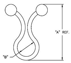 RICHCO Twist Lock dimensions