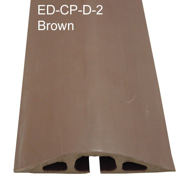 electriduct ed-cp-d-2 rubber cable protector in brown - icon