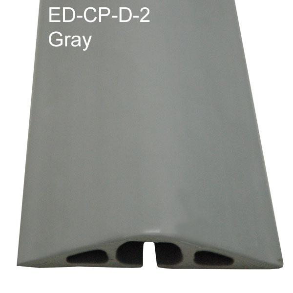 electriduct ed-cp-d-2 rubber cable protector in gray - icon
