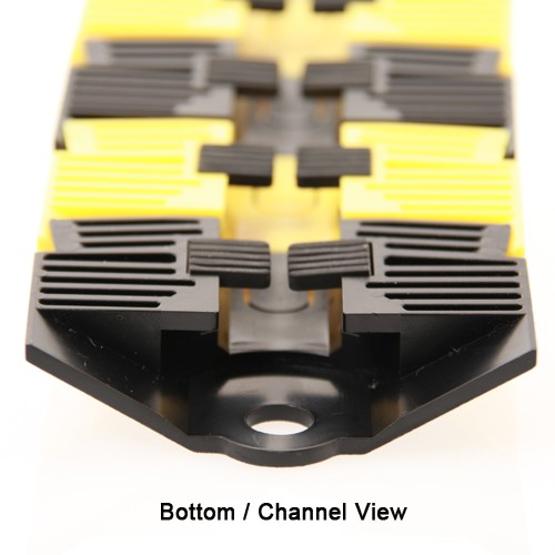 bottom channel view of sidewinder cable protection system - icon