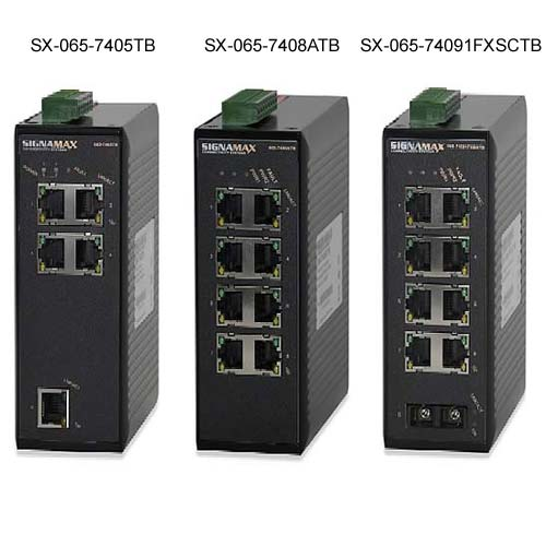 front views of Signamax Hardened Ethernet Switches - icon