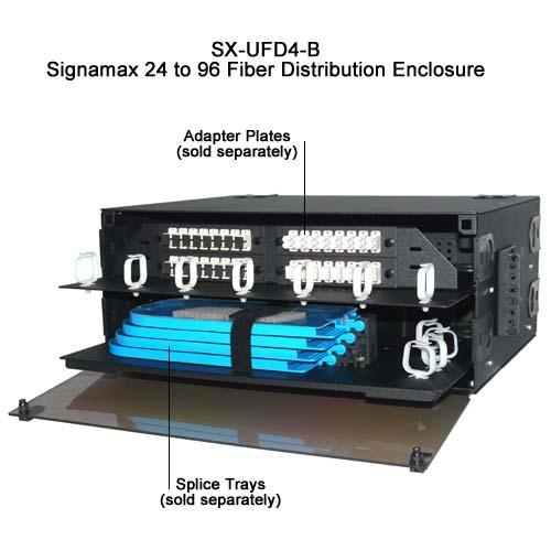 Signamax 24 to 96 Fiber Distribution Enclosure, SX-UFD4-B - icon