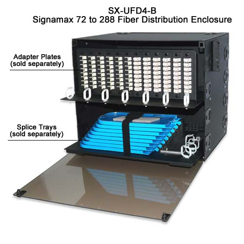 Signamax 72 to 288 Fiber Distribution Enclosure, SX-UFD12-B - icon