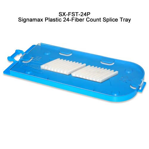 Signamax Plastic 24-Fiber Count Splice Tray, SX-FST-24P - icon