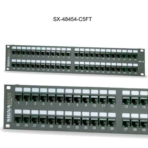 Signamax™ Category 5 Telco Patch Panels